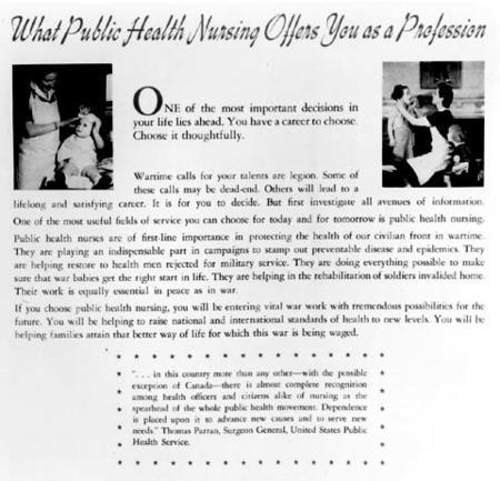 Public Health Nursing Flyer
