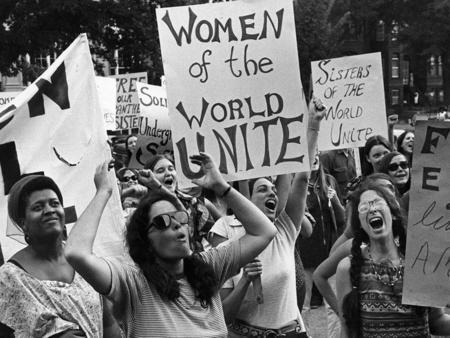 Women's Liberation Movement Protest 1970