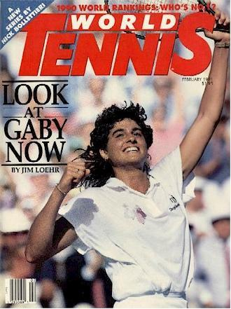 World Tennis Magazine, February 1991