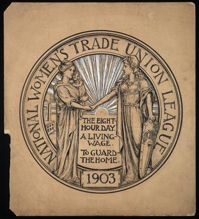 Seal of the National Women's Trade Union League, 1908-1909