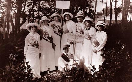 Gertrude Weil and Other Suffragists in North Carolina circa 1910