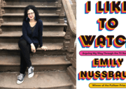 Emily Nussbaum and book cover