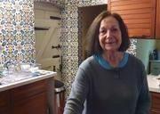 Claudia Roden in her Kitchen