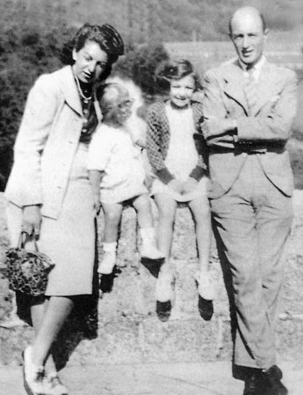 Paulette Weill/Oppert/Fink with Her Family at Le Chamdon Sur Lignon, 1943