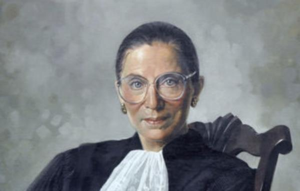 42bdfbb4e Ruth Bader Ginsburg, Michigan, and Me. Cropped Image of RBG portrait