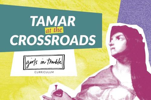 "Cover Art for ""Tamar at the Crossroads"""